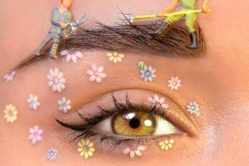Ceja y ojo