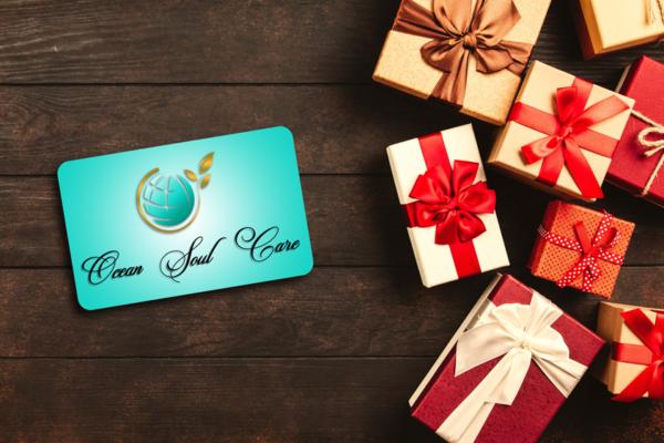 Tarjeta regalo Ocean Soul Care